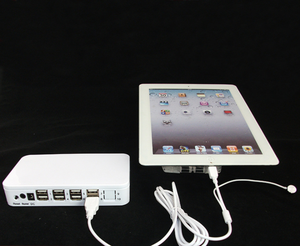 8 USB ports security alarm display system