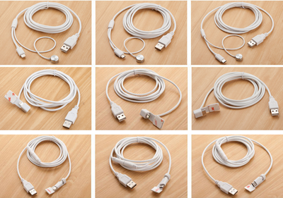 Alarm/charging cables